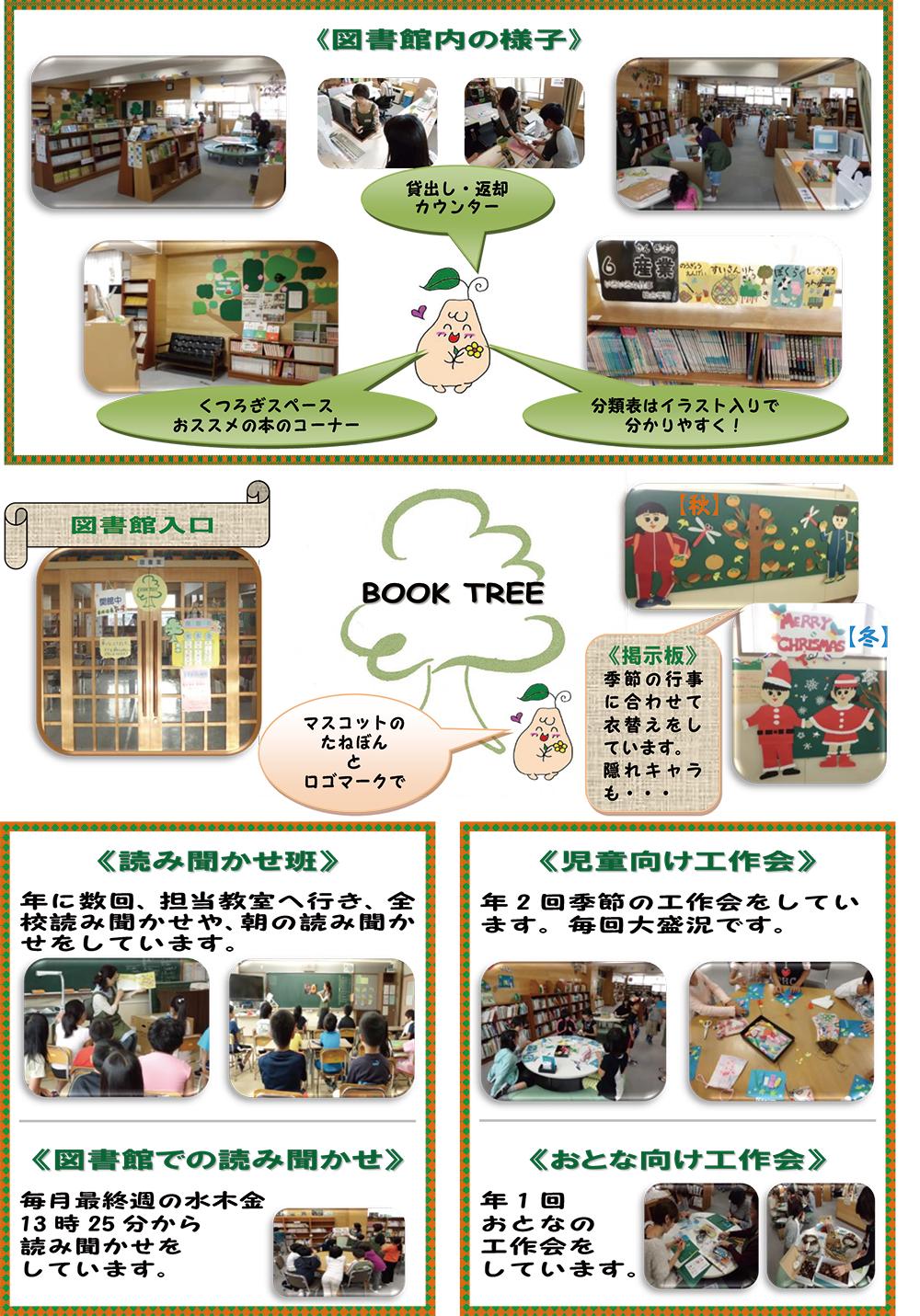 西岡小学校 BOOK TREE